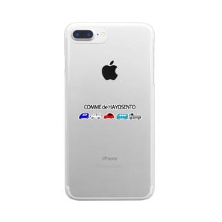 こむで、はよせんと Clear smartphone cases