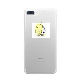 かわいく拒否する Clear smartphone cases