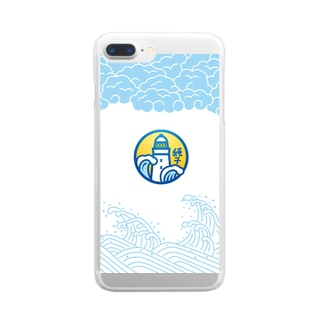 No.804純子 Clear smartphone cases