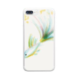 すいすいおさかなさん Clear smartphone cases