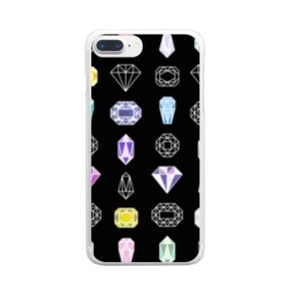 きらきら Clear smartphone cases