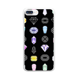 凍月のきらきら Clear smartphone cases
