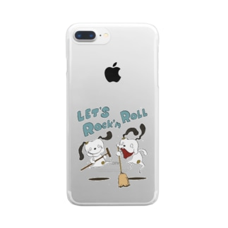 LET'S Rockn' Roll !! Clear smartphone cases