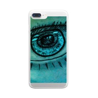 カラコン Clear smartphone cases