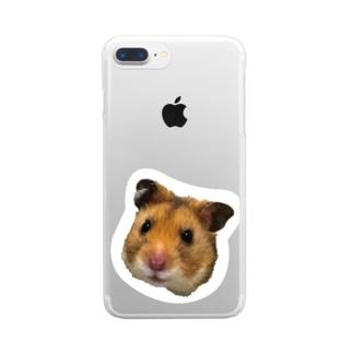 HAMUO ORIGINAL A シリーズ Clear smartphone cases