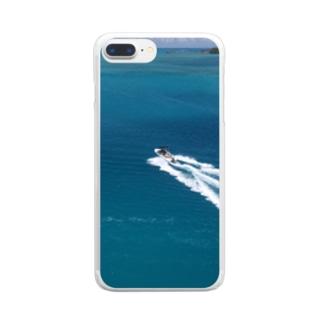 ウェーキー Clear smartphone cases