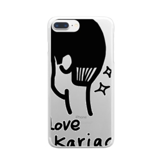 Kariage Clear smartphone cases
