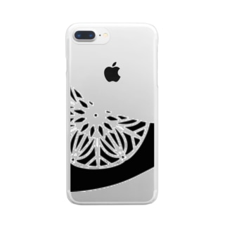 Doily Bird Clear smartphone cases