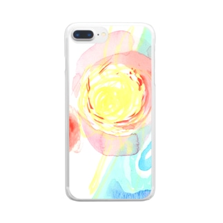 Something is happening 03 Clear smartphone cases