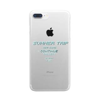 SUMMER TRIP クリアスマートフォンケース