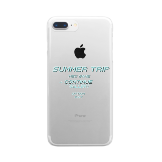Mukade byのSUMMER TRIP Clear smartphone cases