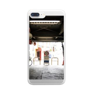 MACHIKADO① Clear smartphone cases
