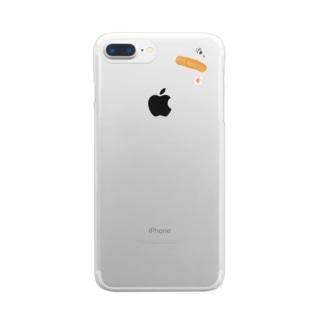 ばんそうこう Clear smartphone cases