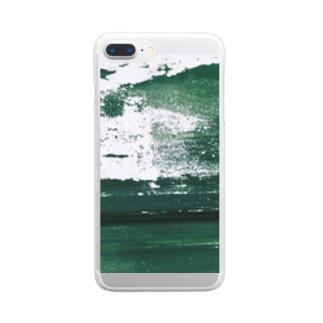 maricarpaccioのベルデ Clear smartphone cases