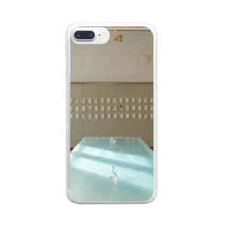 涙の部屋 Clear smartphone cases