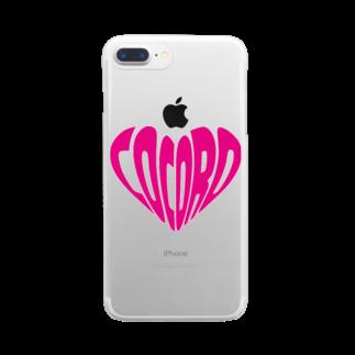 バンブータケのcocoro Clear smartphone cases