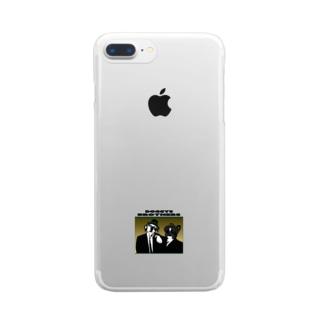 ドギーズブラザーズ Clear smartphone cases