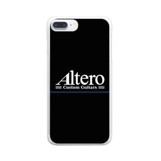 Altero Custom Guitars Clear smartphone cases