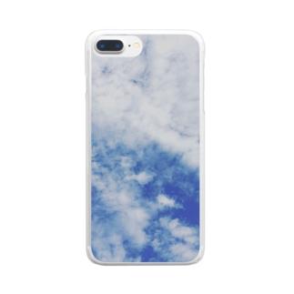 雲 Clear smartphone cases