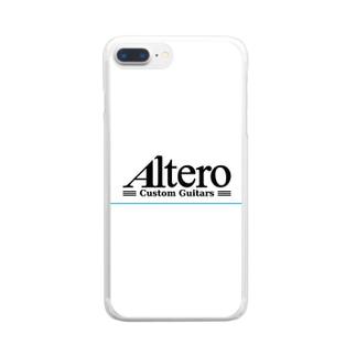 Altero Custom Guitars02 Clear smartphone cases