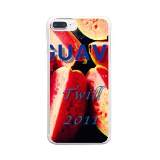 グァバ Clear smartphone cases