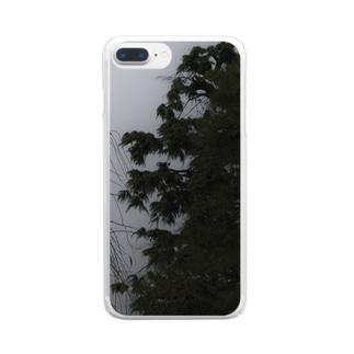 松の木 クリアスマートフォンケース