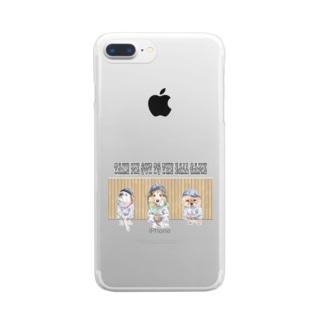 わんこリーグ Clear Smartphone Case