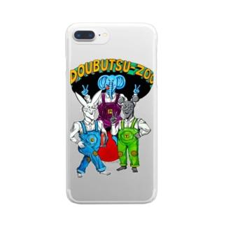 DOUBUTSU-ZOO Clear smartphone cases