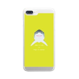 ジョーク Clear smartphone cases
