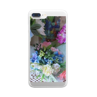 香しき香りNo.13 Clear smartphone cases