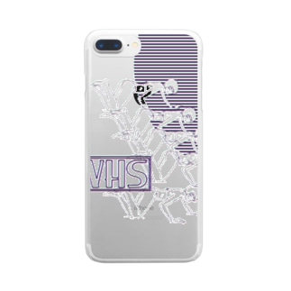 VHS Clear smartphone cases
