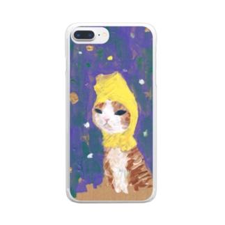 哀愁ふたレモン Clear smartphone cases