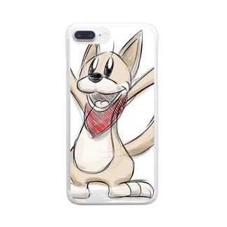ドローイング・クッキー Clear smartphone cases