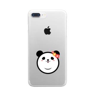 Panda Lele&Hehe Clear smartphone cases