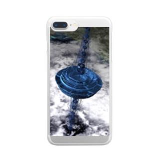 JPKサイエンスシリーズ 宇宙エレベーター Clear smartphone cases