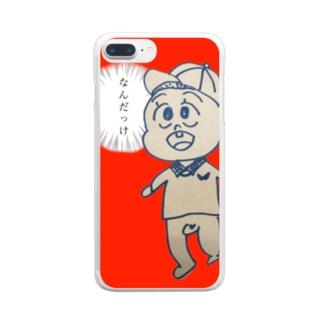 忘却スマホカバー Clear smartphone cases