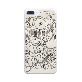 細胞Ⅱ Clear smartphone cases