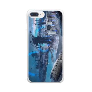 未来都市 Clear smartphone cases