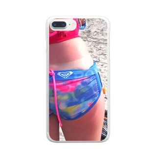 SUMMER HOT HIP Clear smartphone cases