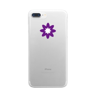 Clematis(クレマチス)  Clear smartphone cases