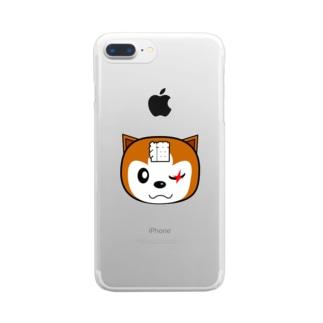 【原価販売】チャタローBタイプ Clear smartphone cases