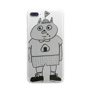 タベテナイヨ Clear smartphone cases