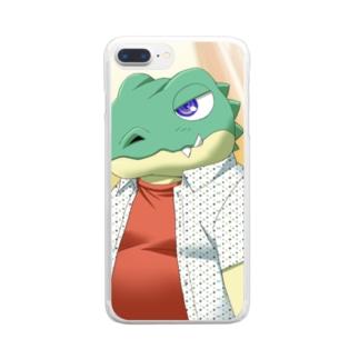 Q太郎ズ Clear smartphone cases