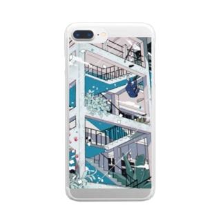 【スマフォケース】「あとは夢から醒めるだけ」 Clear smartphone cases