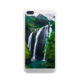 KAJIKI 姶良市加治木町龍門滝 Clear smartphone cases