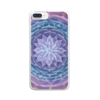サハスラーラパドマ Clear smartphone cases