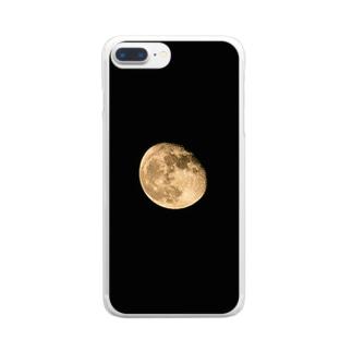 皆既月食iPhoneケース Clear smartphone cases