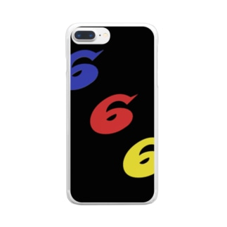 triple6 Clear smartphone cases