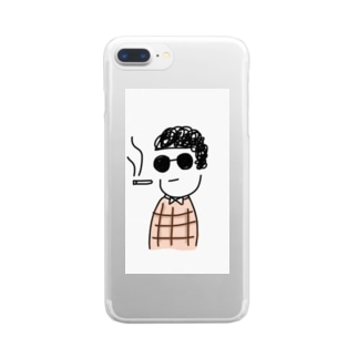 BOY Clear smartphone cases