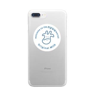 うし Clear smartphone cases